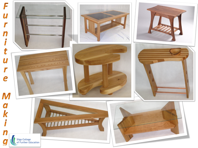 Sligo College Of Further Education Furniture Making And Design