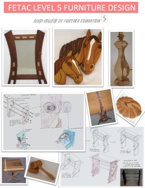 Sligo college of further education furniture making and design for Furniture design course